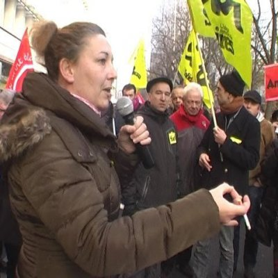 SUD PTT NATIONAL à Paris (12/12/2013)