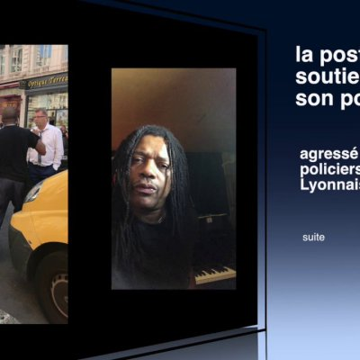 Agression d'un facteur à Lyon